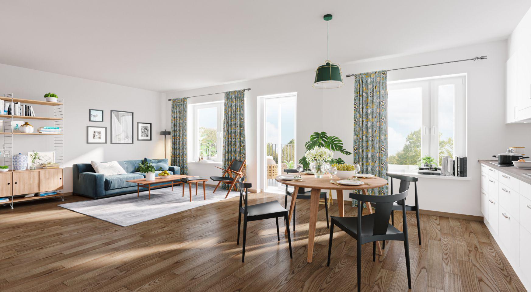 Residential Interior Design Rendering