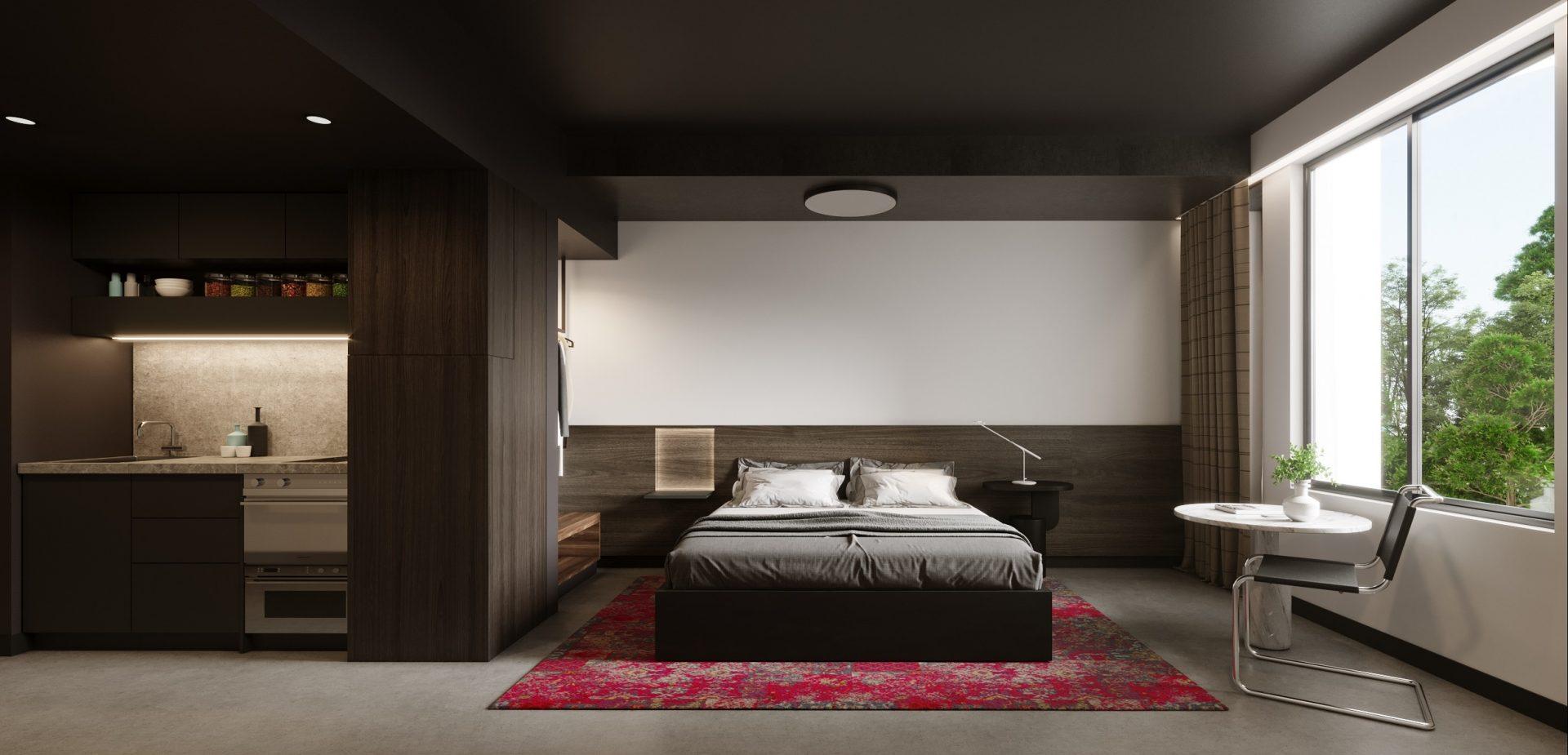 Mia Hotel Bedroom